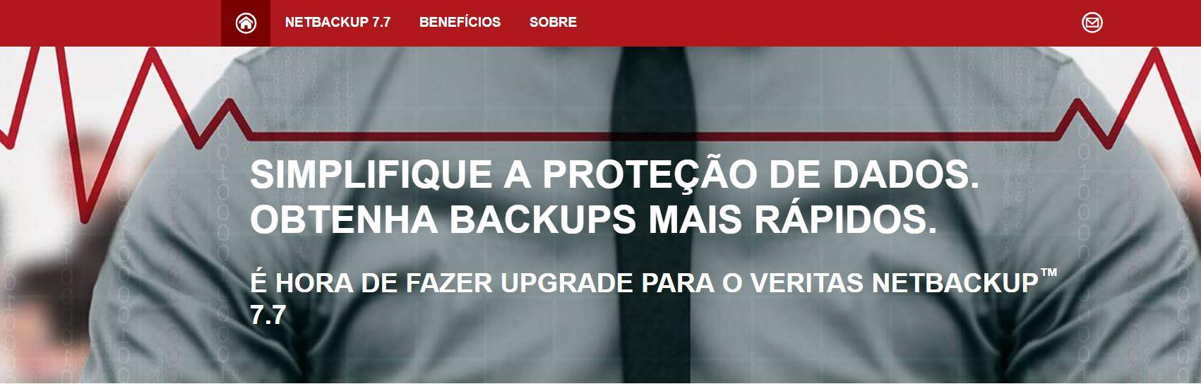Simplifique a proteção de Dados de Backup