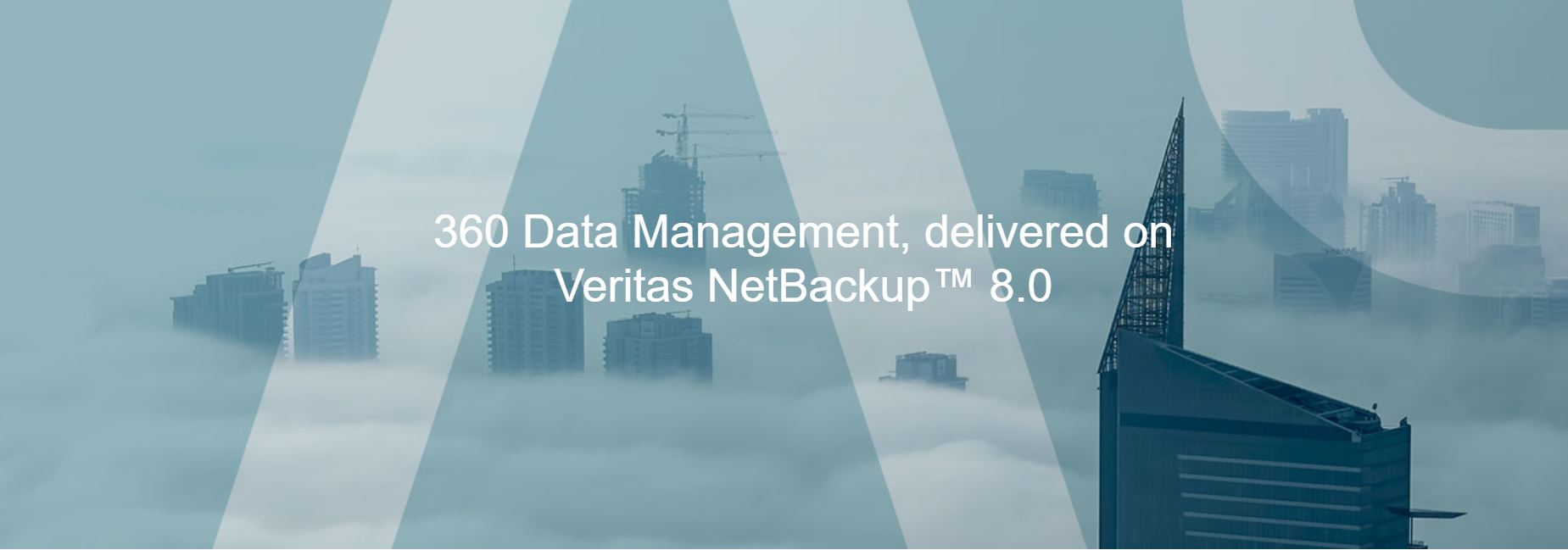 360 Data Management, delivered on Veritas NetBackup™ 8.0