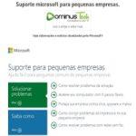 Suporte microsoft para pequenas empresas