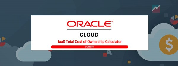 A calculadora de TCO da Oracle Cloud.