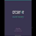 Arcserve UPD