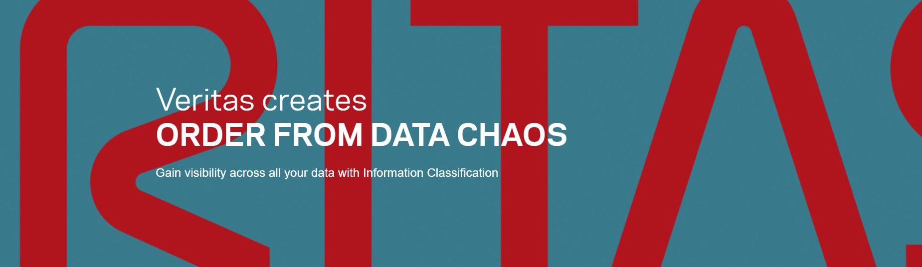 ORDER FROM DATA CHAOS