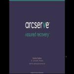 Webcast: Opções de recuperação de dados com o Arcserve UDP