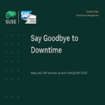 SUSE solutions for SAP